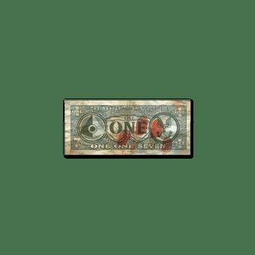 Sticker   Dirty Money