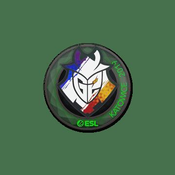 Sticker   G2 Esports (Holo)   Katowice 2019