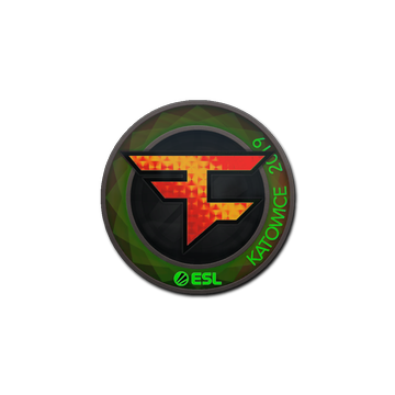 Sticker | FaZe Clan (Holo) | Katowice 2019