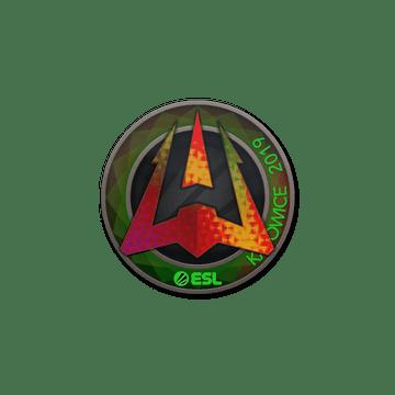 Sticker   Avangar (Holo)   Katowice 2019