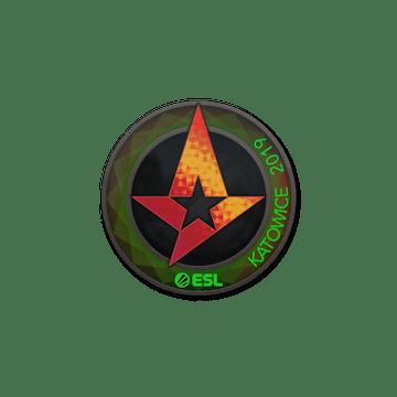 Sticker   Astralis (Holo)   Katowice 2019