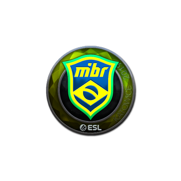 Sticker   MIBR (Foil)   Katowice 2019