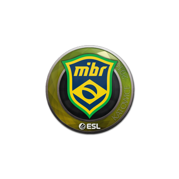 Sticker   MIBR   Katowice 2019