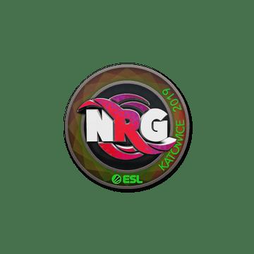 Sticker | NRG (Holo) | Katowice 2019