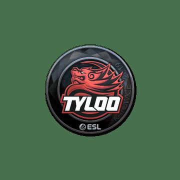Sticker | Tyloo (Foil) | Katowice 2019