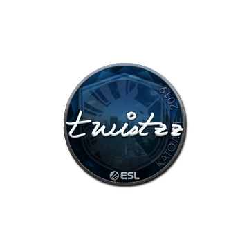 Sticker   Twistzz (Foil)   Katowice 2019