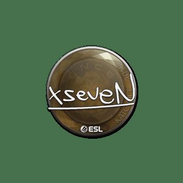 Sticker   xseveN   Katowice 2019
