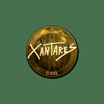 Sticker | XANTARES (Gold) | Katowice 2019