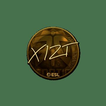 Sticker | Xizt (Gold) | Katowice 2019