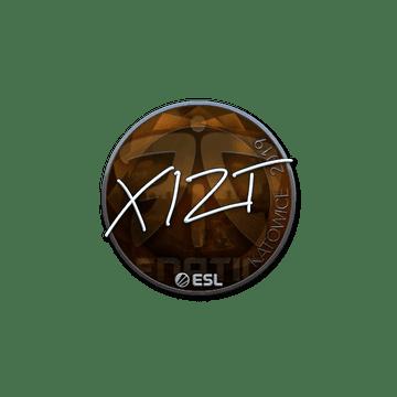 Sticker | Xizt (Foil) | Katowice 2019