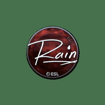 Sticker | rain (Foil) | Katowice 2019