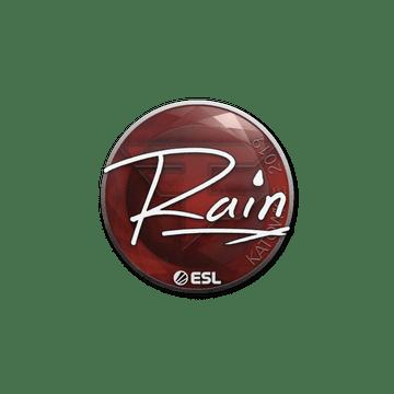 Sticker   rain   Katowice 2019