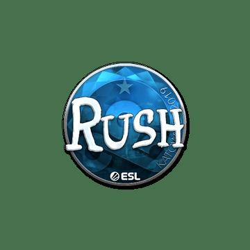 Sticker | RUSH (Foil) | Katowice 2019