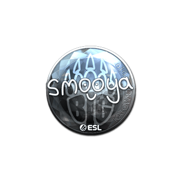 Sticker | smooya (Foil) | Katowice 2019