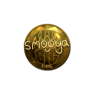 Sticker | smooya (Gold) | Katowice 2019