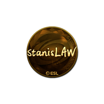 Sticker | stanislaw (Gold) | Katowice 2019