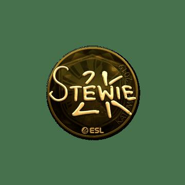 Sticker   Stewie2K (Gold)   Katowice 2019