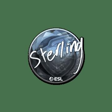 Sticker | sterling (Foil) | Katowice 2019