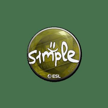 Sticker   s1mple   Katowice 2019