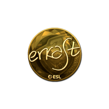 Sticker   erkaSt (Gold)   Katowice 2019