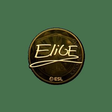 Sticker | EliGE (Gold) | Katowice 2019