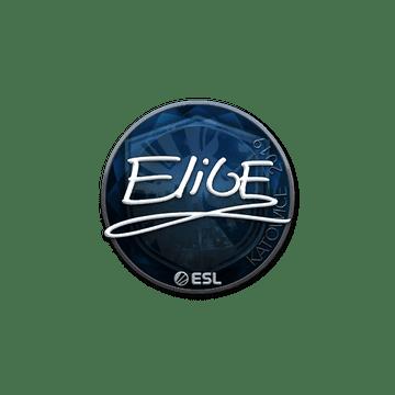 Sticker | EliGE (Foil) | Katowice 2019