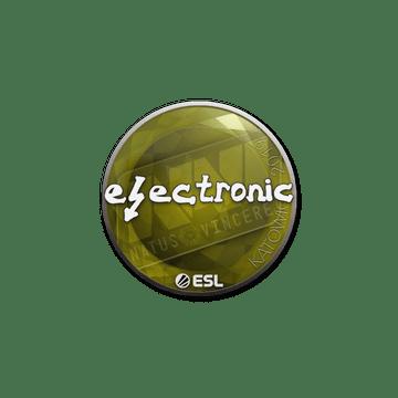 Sticker   electronic   Katowice 2019