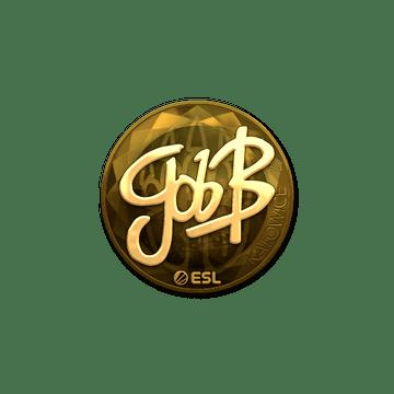 Sticker   gob b (Gold)   Katowice 2019