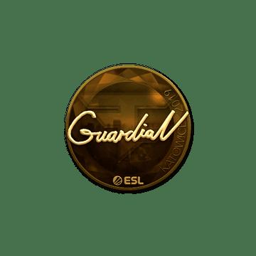 Sticker   GuardiaN (Gold)   Katowice 2019