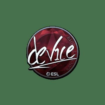 Sticker | device (Foil) | Katowice 2019