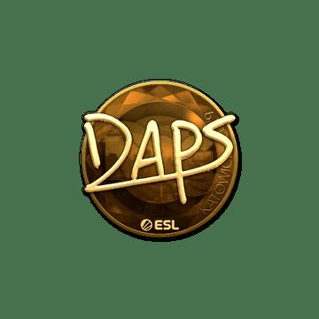 Sticker | daps (Gold) | Katowice 2019