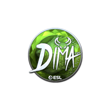 Sticker | Dima (Foil) | Katowice 2019