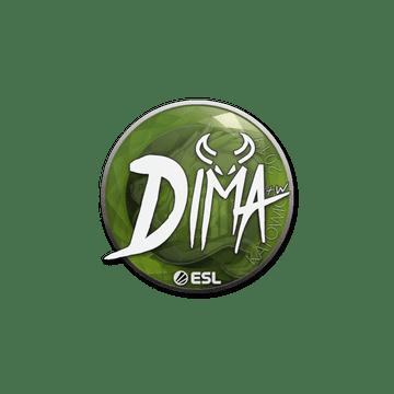 Sticker   Dima   Katowice 2019