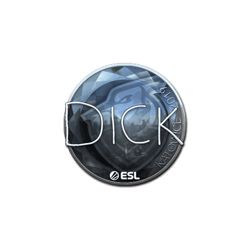 Sticker | DickStacy (Foil) | Katowice 2019