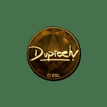 Sticker | dupreeh (Gold) | Katowice 2019