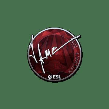 Sticker   Jame (Foil)   Katowice 2019