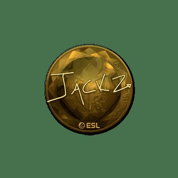 Sticker | JaCkz (Gold) | Katowice 2019