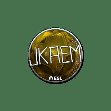 Sticker   jkaem (Foil)   Katowice 2019