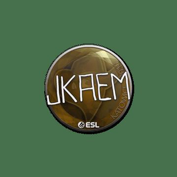 Sticker | jkaem | Katowice 2019