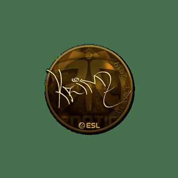 Sticker | KRIMZ (Gold) | Katowice 2019