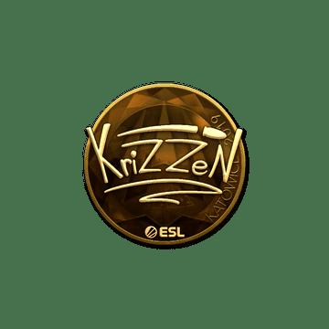 Sticker | KrizzeN (Gold) | Katowice 2019