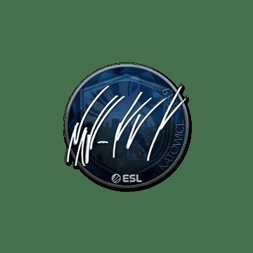 Sticker | NAF (Foil) | Katowice 2019