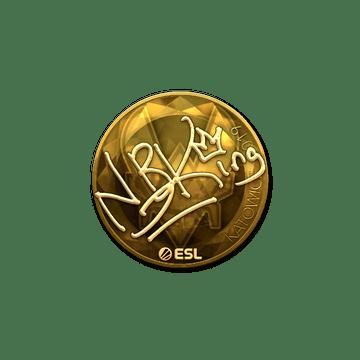 Sticker | NBK- (Gold) | Katowice 2019
