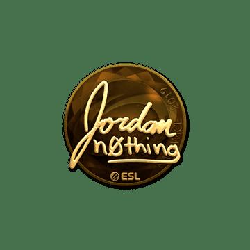 Sticker | n0thing (Gold) | Katowice 2019