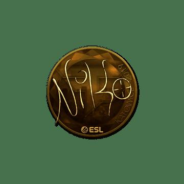 Sticker   NiKo (Gold)   Katowice 2019