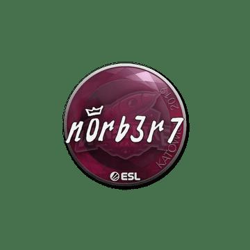 Sticker   n0rb3r7   Katowice 2019