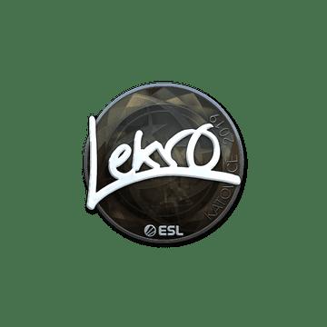 Sticker | Lekr0 (Foil) | Katowice 2019
