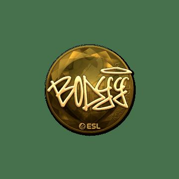 Sticker | bodyy (Gold) | Katowice 2019