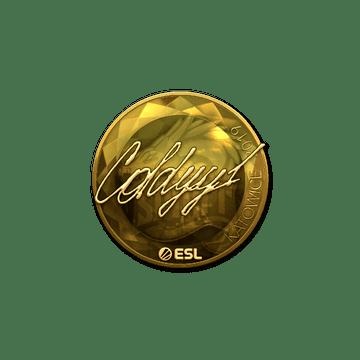 Sticker   COLDYY1 (Gold)   Katowice 2019