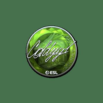 Sticker   COLDYY1 (Foil)   Katowice 2019